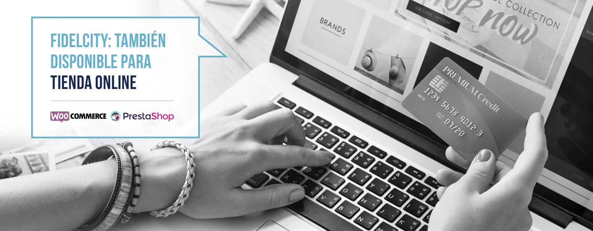 FidelCity integrado con Tiendas Online