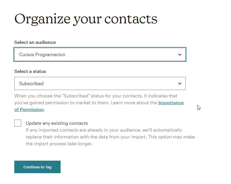 mailchimp import contacts-4