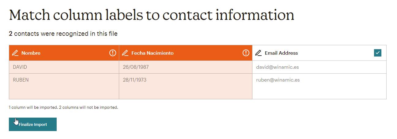 mailchimp import contacts-6